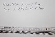 Druckfeder  Ø9mm Draht d= 1,1 mm  Neu