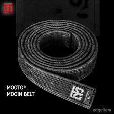MOOTO Mooin Black Belt (vintage style premium black belt) width 4.5cm TKD Karate