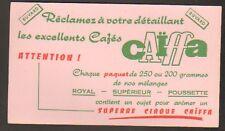 Buvard BOISSON / CAFE / CAIFFA