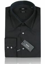 Hugo BOSS BLACK Business-Hemd | Enzo ( Regular Fit ) schwarz 100% Cotton
