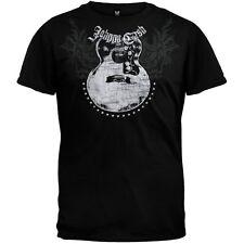Johnny Cash - Guitar Adult Mens T-Shirt