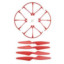 hélice et bague de protection pour mjx b3 bugs 3 rc drone quadrotor