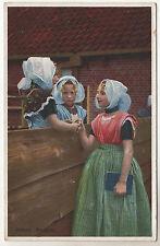 Zeeland - Walcheren Photo Postcard c1920 / Holland
