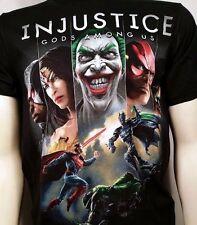 AUTHENTIC INJUSTICE COVER ART BATMAN JOKER DC COMICS SUPERHERO T TEE SHIRT S-3XL