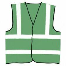 Hi Visibility Reflective Paramedic Green Safety Vest Hi Viz Waistcoat