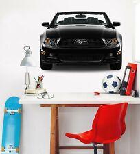 3D Mustang R67 Car Wallpaper Mural Poster Transport Wall Stickers Zoe