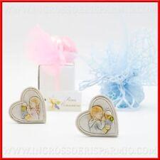 Bomboniere prima comunione quadretto cuore simboli sacri maschio femmina outlett
