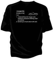 "Morgan PLUS 8 Classic Car T-Shirt - ""morganitis"" definizione."