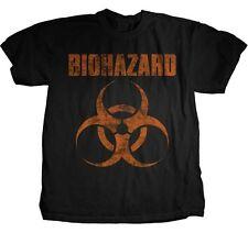 BIOHAZARD - Distressed Logo - T SHIRT S-M-L-XL-2XL Brand New - Official T Shirt