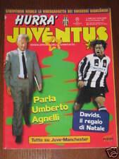 HURRA' JUVENTUS 1997/12 MANCHESTER UNITED U. AGNELLI **