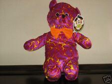 Good Stuff Halloween Flaming Teddy Bear ~ In Flames NEW Ugly Tacky