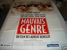 AFFICHE   J.GAMBLIN / M.BELLUCCI / MAUVAIS GENRE