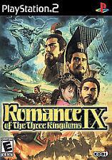 Romance of the Three Kingdoms IX PlayStation2, Playstation 2 Video Games-Good Co
