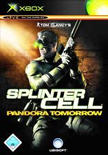 ~ Tom Clancy's Splinter Cell ~ Pandora Tomorrow ~ (Microsoft Xbox, DVD-box) OVP