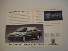 advertising Pubblicità 1989 LANCIA THEMA TURBO 16V