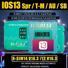 Fit iOs13 R-Sim 14 V18 12 V16 Nano Unlock Rsim-Card For iPhone Au Sb Spr T-M Us