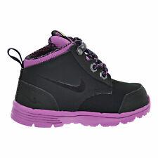 Nike DF Jack Boot (TDV) Toddler's Boots Black/Viola/Metallic Grey 536081-001
