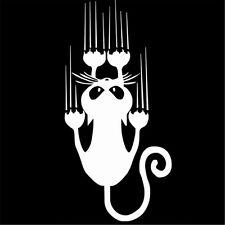 Funny Cat Car Stickers Cartoon Decorative Car Styling Decorative Vinyl Car