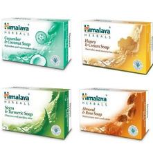 Himalaya Herbals Cucumber Coconut Honey Cream Neem Turmeric Almond Rose Soap