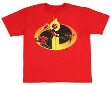Disney Pixar Boys' Incredibles 2 Family Icon T-Shirt