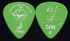 Queensryche 2011 Chaos Tour Guitar Pick! Michael Wilton custom concert stage
