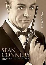 James Bond: Connery, Vol. 2 (DVD, 2012, 3-Disc Set) THUNDERBALL/ONLY LIVE/DIAMON