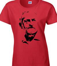 JEREMY Calidad Camiseta LABOUR Leader Leadership SOCIALISTA MUJER ROJO VOTO