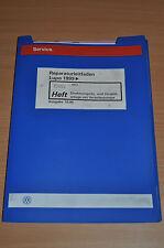 VW Lupo 1999 Direkteinspritz- Vorglühanlage Werkstatthandbuch Reparaturleitfaden