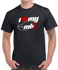FUN T-SHIRT * I LOVE MY MK1 * Golf Tuning 1er Gti Satire vw Fun Auto Car Kult