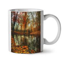 Late Autumn Tree Fall Brown Park NEW White Tea Coffee Mug 11 oz | Wellcoda