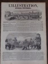 ILLUSTRATION 1846 N 185 CHEMIN DE FER A FORCE CETRIFUGE