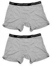 Pierre Cardin Herren Boxershorts Boxer-Shorts 2er-Pack Grau Größen M/L/XL/XXL