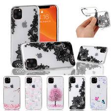 iPhone 11 Pro Max XS XR 8 7 6s Plus XR Case Clear Transparent TPU Soft Gel Cover