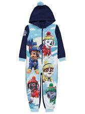 Sizes 2-3 Years to 5-6 Years Paw Patrol One Piece Fleece Pyjamas Bodysuit