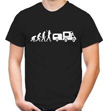 Evolution Camping T-Shirt | Zelten | Wohnwagen | Party | Saufen | Fun |