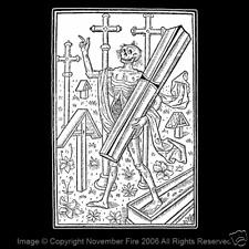 Walking Dead Zombie Living Death Gothic Cemetery Graveyard Coffin Shirt NFT111
