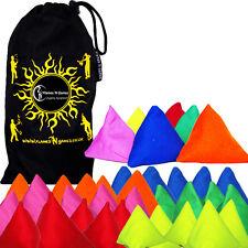 tri-it Pyramide BEANBAG de jonglerie - Lot de 5 + sac - jonglage Sacs / balles