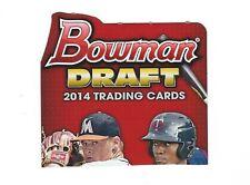 2014 BOWMAN  AND BOWMAN CHROME DRAFT LOTS YOU PICK  ROOKIE PROSPECT LOT