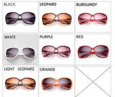 Oversized Womens Fashion Sunglasses UV 400 Protection Large Size Eyewear Glasses