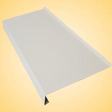 Fensterbank aus Aluminium Weiß; alle Ausladungen Fensterbänke Alu Blech 1,2mm