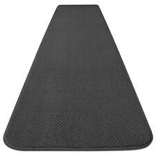 SKID-RESISTANT CARPET RUNNER hall area rug floor mat GRAY