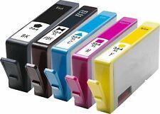 NonOEM HP364XL CMYK PB Inks for PhotoSmart 5510 5515 5520 6510 6520 Lot Sealed