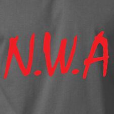 NWA T-Shirt Eazy E Straight Outta Ice Cube Hip Hop Gangta Movie S-6XL Gildan Tee