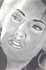 Megan Fox Transformers Canvas Art Print