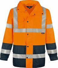 Warnschutz vizwell Regenjacke Warnschutzjacke Jacke leuchtorange