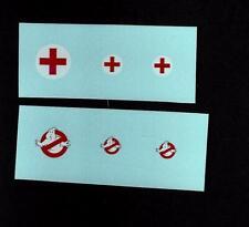 MATCHBOX CUSTOM/CODE 3 TRANSFERS/DECALS for 3c MERCEDES AMBULANCE