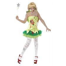Zombie Fairy Costume Halloween Fancy Dress
