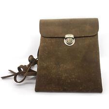 Unisex Handmade Leather Crossbody Bag. New! Ship Free!