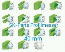 Perfil cuchillo + abweiser 40mm (frase) 4-piezas diferentes formas sk1560 predeterminada
