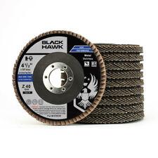 """4-1/2"""" x 7/8"""" Black Hawk Zirconia Flap Discs T29 4.5"""" Sanding & Grinding Wheels"""
